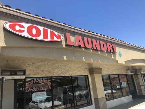 ontario coin laundry storefront
